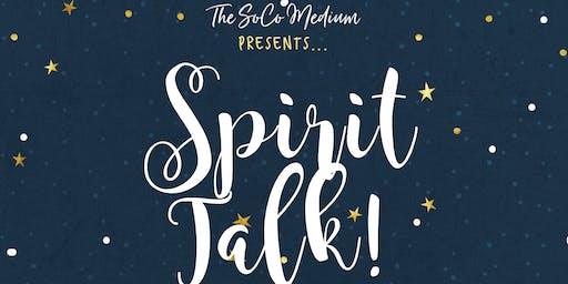 Spirit Talk! Pajama Party! (12/7)