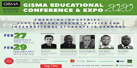 GISMA EDUCATIONAL CONFERENCE & EXPO 2020 tickets