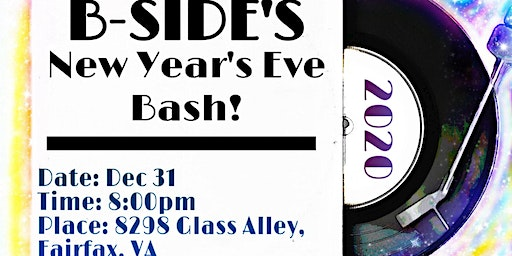 New Year's Eve Bash at B-Side 2020