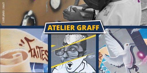 Atelier graff Calligraff juin 2020
