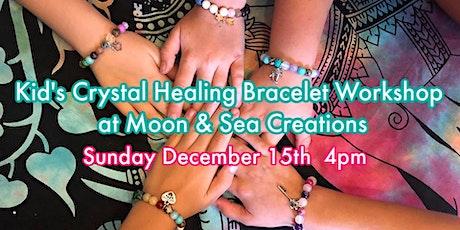 Kids Crystal Healing Bracelet Workshop tickets