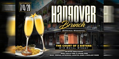 6th Annual Hangover Brunch (2020 Essence Festival Weekend)