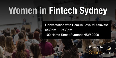 Women in FinTech Sydney launch event with Camilla Love tickets