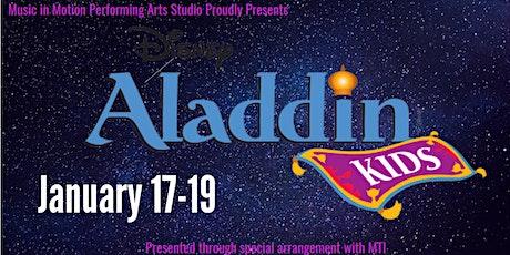 Aladdin RUBY Cast Show 1(Tickets sold Dec. 10 - Jan. 16) tickets
