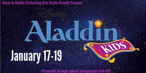Aladdin RUBY Cast Show 2   (Tickets sold Dec. 10 - Jan. 16)