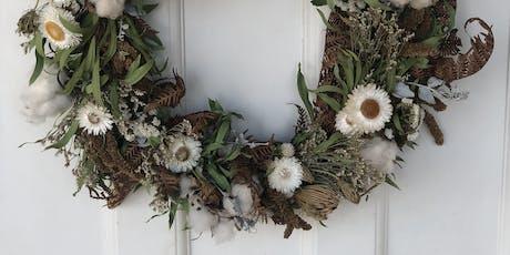 Christmas Wreath - Grow & Design Workshop tickets