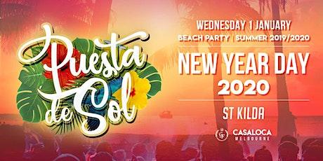 New Year's Day | Puesta de Sol Summer Beach Party tickets