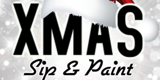 Xmas Sip & Paint