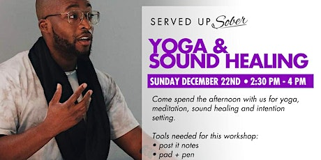 Yoga & Sound Healing for Sobriety tickets