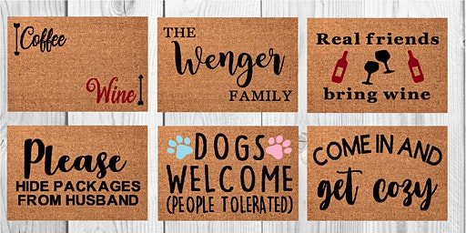 Potomac Point Winery Doormat Workshop