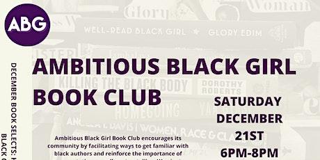Ambitious Black Girl Book Club | December Meet-Up | Cafe Con Libros BK tickets