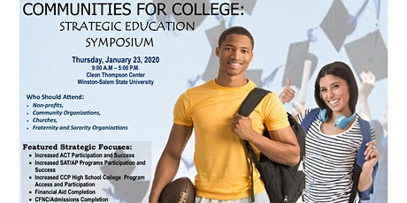 Communities for College: Strategic Education Symposium tickets