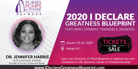 I Declare Greatness Blueprint 2020 in Raleigh NC tickets