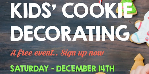 Kids' Cookie Decorating - A Free Holiday Event