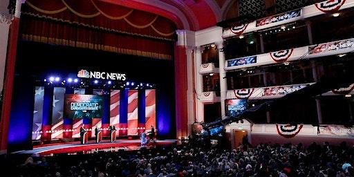 6th Democratic Presidential Debate Watch, Dec 19 at Round Table, Menlo Park