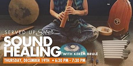 Sound Healing for Sobriety tickets