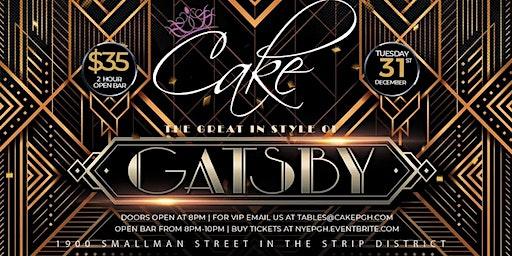 Cake Pittsburgh Gatsby NYE