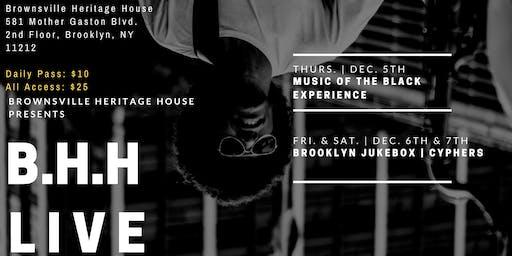 B.H.H. LIVE | Storytelling | Open Mic | Jam Session | Cypher Showcase