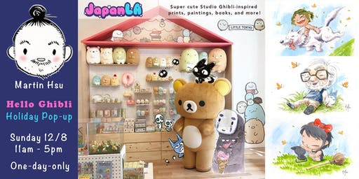 'Hello Ghibli' Pop-up Shop at JapanLA Little Tokyo by Martin Hsu!