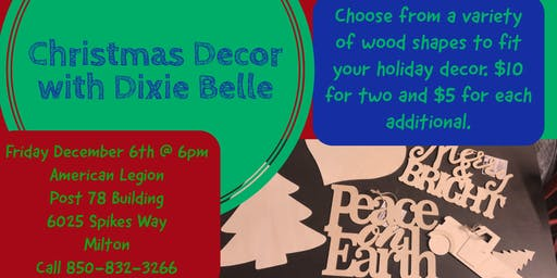 Christmas Decor with Dixie Belle
