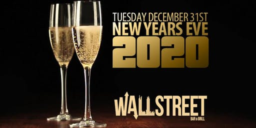 Wall Street New Years Eve Celebration