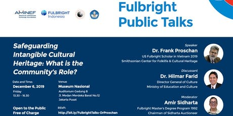 Fulbright Public Talks on Intangible Heritage tickets