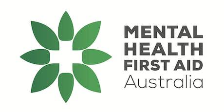 Mental Health First Aid - Standard tickets