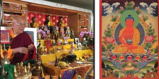 Lama Lodu Rinpoche Gives Teachings & Initiations
