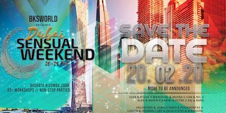 Dubai Sensual Weekend 20.02.20 tickets