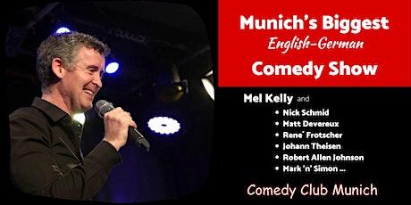 Munich's Biggest English-German Comedy Show - 8. Februar 2020 Tickets