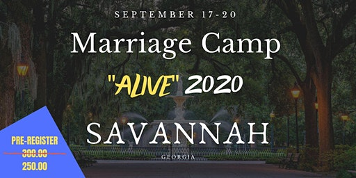 "MARRIAGE CAMP: ""ALIVE 2020"""