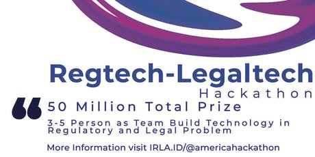 @america-IRLA Regtech Legaltech Hackathon tickets