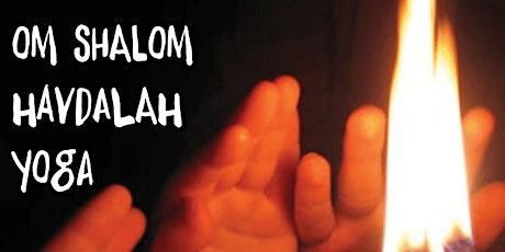 Om Shalom Havdalah CandlelightYoga tickets