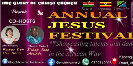 IMC GLORY OF CHRIST CHURCH ANNUAL JESUS FESTIVAL tickets