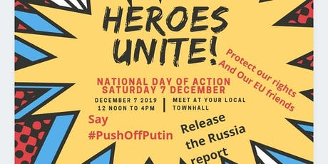 #TakeaStandWithMe by demanding #ReleaseTheRussiaReport #PushOffPutin tickets