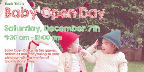 CWB Book Talk Baby Open Day (0-2.9 years) tickets