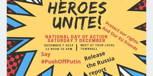 Join together to say #PushOffPutin #ReleaseTheRussiaReport #StopBrexit
