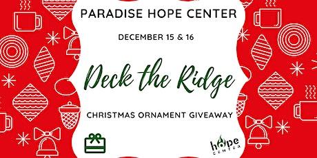 Deck the Ridge tickets