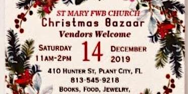 St Mary FWBC Christmas Bazaar