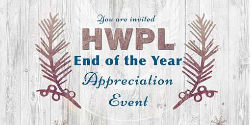 HWPL End of the Year Appreciation Event