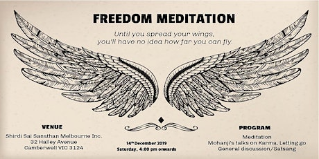 End of Year Meditation & Discussion on the topic - Karma and Letting Go tickets