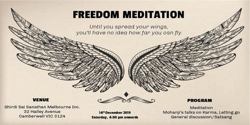 End of Year Meditation & Discussion on the topic - Karma and Letting Go