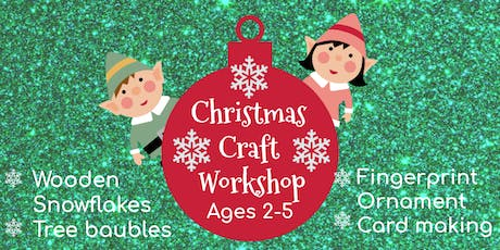 Christmas Crafts for ages 2-5 tickets