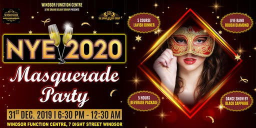 NYE 2020 Masquerade Party