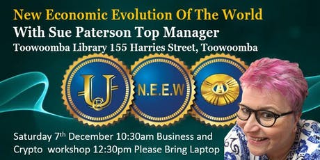 New Economic Evolution of the World Toowoomba tickets