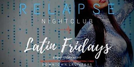 Latin Fridays Relapse@TherapyLV nightclub tickets