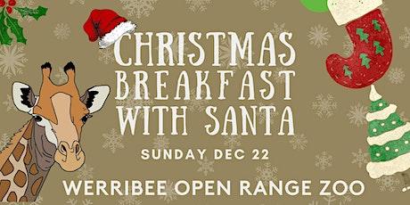 Christmas Breakfast with Santa at Werribee Zoo tickets