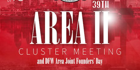 39th Annual Area II Cluster Meeting tickets