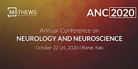Annual Conference on Neurology and Neuroscience biglietti