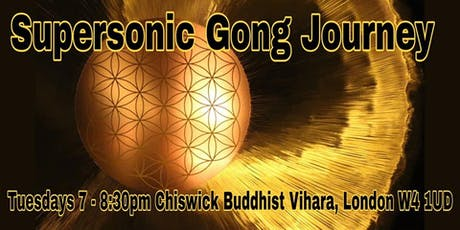 SUPERSONIC GONG JOURNEY tickets